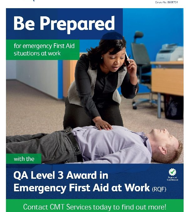 First Aid at Work | 19th Feb | CMT 9-4.30