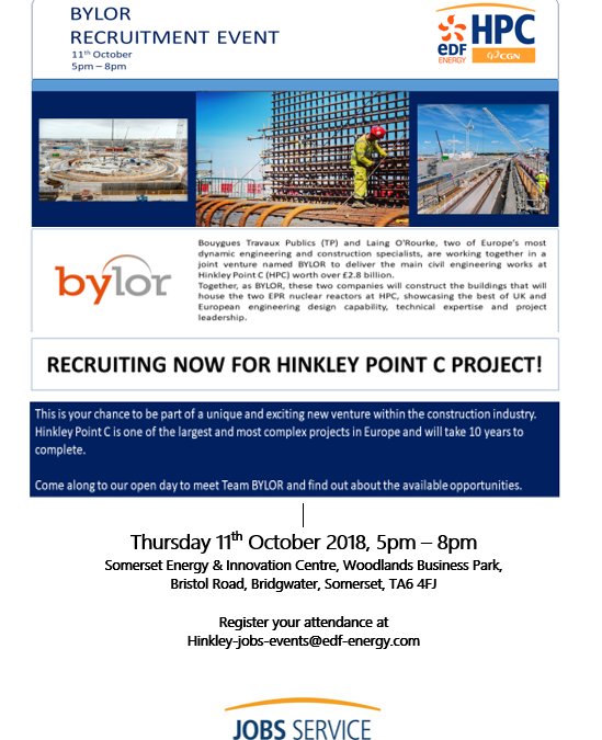 BYLOR Recruitment Drop in Session Thursday 11th October 5pm-8pm