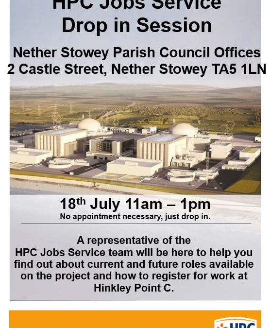 HPC Drop-in Session – Nether Stowey