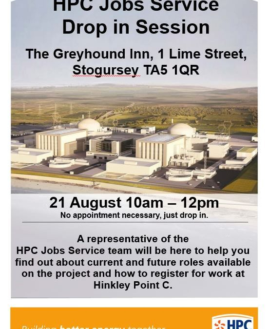 HPC Drop-In at Stogursey