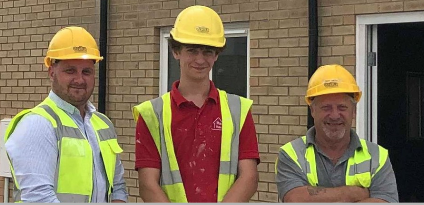 EG Carter & Co LTD Helps Magna Housing Apprentice