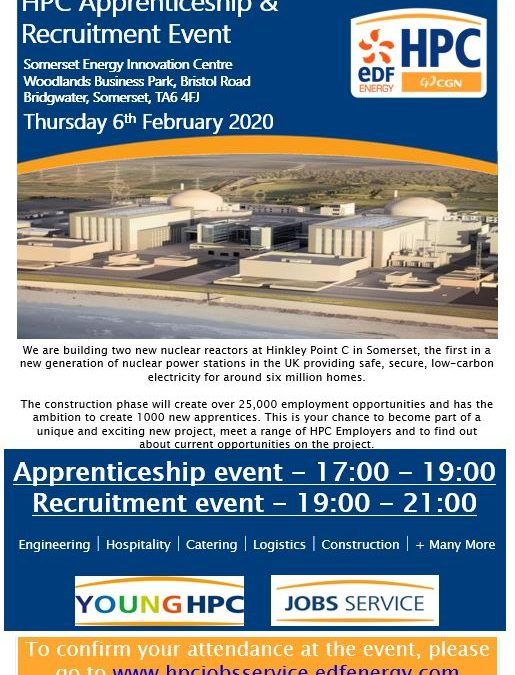 HPC Apprenticeship & Recruitment Event