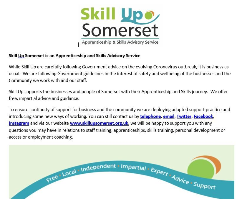 Skill Up Somerset