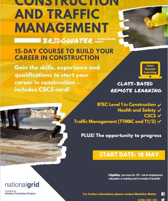 FREE construction and traffic management course