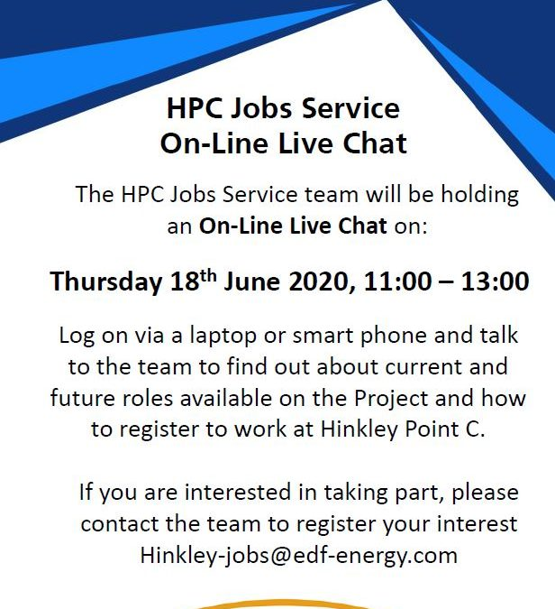 HPC Jobs Service On-Line Chat