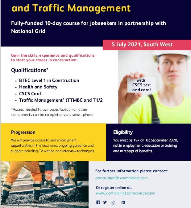 Construction & Traffic Management Course | 5th July 2021
